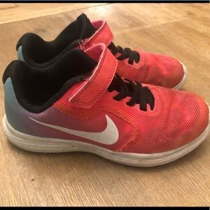 Girls size 13 Nike shoes